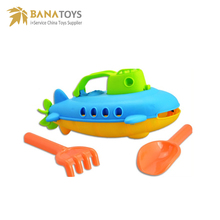 Summer toy plastic boat sand beach toy set for kids