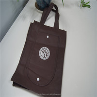 Manufacturer custom shopper bags tote foldable non-woven bags