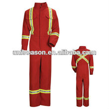 Protective fireproof fireman uniform for firefighters