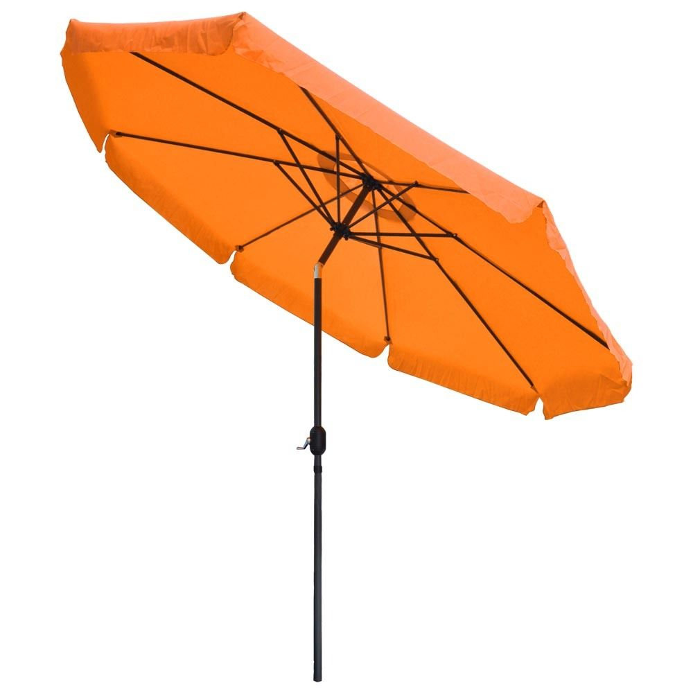 2018 windproof aluminium corporate line outdoor umbrella with base chinese garden parasol
