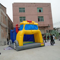 Amusement cheap car inflatable bounce house/inflatable bouncer /inflatable castle
