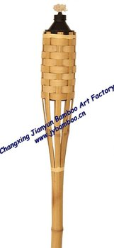 natural bamboo torch