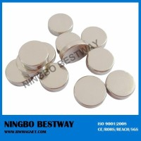 Clothing or leather disc magnets neodymium n35 n45 n40 n42 n38 n48