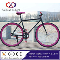 No gear racing bike Fixed gear bike 700C Fixed gear bicycle