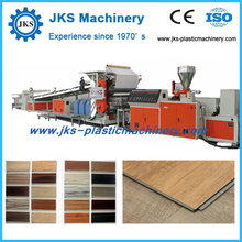 PVC Plastic Wood Floor Tile Making Machine Price