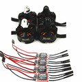 4PCS 12A SimonK ESC + 4PCS 2204 2300KV CW CCW for QAV250 Mini FPV Quads.