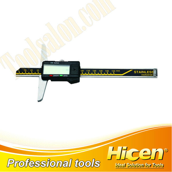 Stainless Steel Electronic Digital Depth Vernier Calipers,Digital Depth Calipers