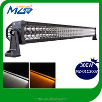 "factory direct sell 300W 50"" led light bar for off road 4x4,SUV,ATV,4WD,truck. CE, ROHS, IP67"