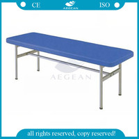 AG-ECC04 CE ISO patient room equipment hospital furniture medical stainless steel table