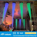 Ceiling inflatable cone tube for event decoration