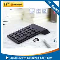 mini wireless usb numeric keypad for laptop tablet PC