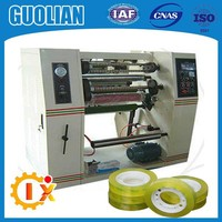 GL--216 New launch stationery BOPP tape roll cutting machine
