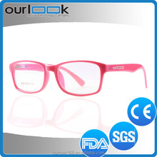 2016 New Model Colorful Cheap Anti Blue Ray Plastic Glasses Frames