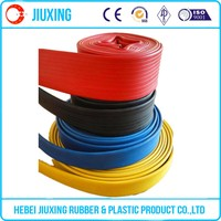 colorful large diameter flexible hose for water pumps