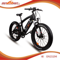 SOBOWO fat 26 inch tyre cheap but popular electric bicycle Q7