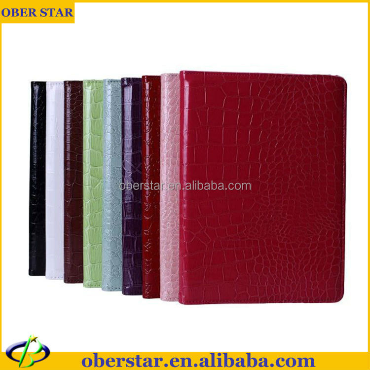 Crocodile pattern 360 rotate leather case For iPad 6