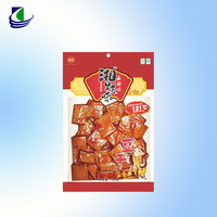 HOT custom printed heat seal food packing plastic vacuum plastic bag