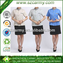 Cleaner's Summer Cleaning Short Sleeve Working PA Attendant Uniform