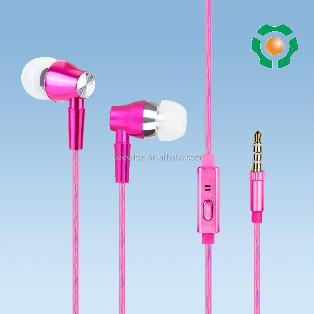 Best selling mobile cell phone accessories of earphone for smartphone
