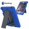 Eco-friendly pc+silicon robot stand case for ipad mini 3