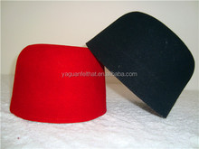 wool felt muslim prayer hat /muslim prayer caps /African traditional hats