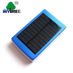 Mytree Ports Solar Cell 20000mah Dual Usb Charger Foc Power Bank With Camp Lamp