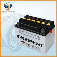 Stable quality 12v 4ah extra power battery for motorcycle