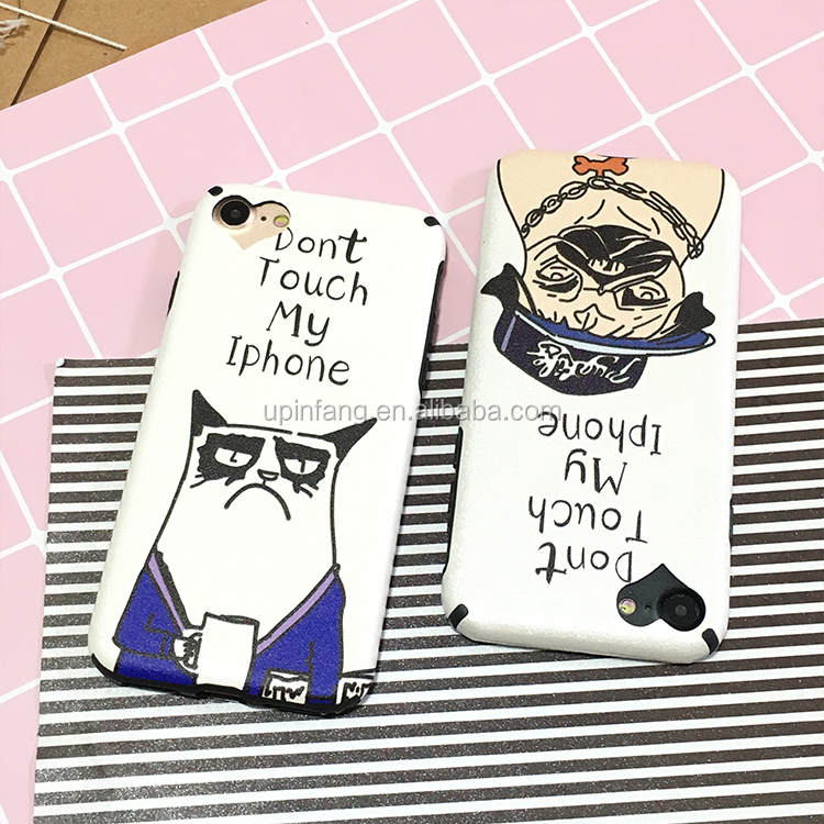 Lovely dog cute cartoon Animal silicone phone case for iphone 7/7plus/6s/6