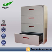 Office lateral iron filing cabinet