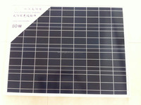 80 Watt 80w Polycrystalline Photovoltaic PV Solar Panel Module 12V Battery Charging