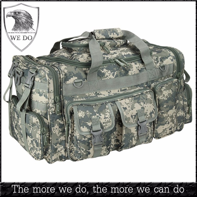 Mens 26 Inch Molle Gear Duffel Tactical Military Backpack Convertible Shoulder Bag