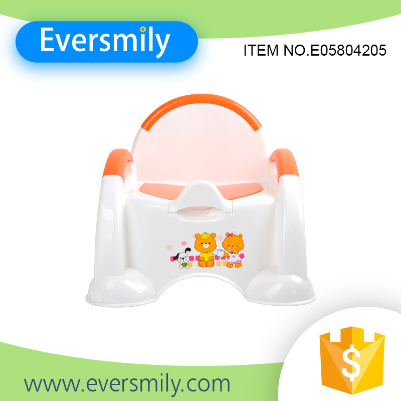 High quality removable child toilet seat plastic portable baby travel potty for sale