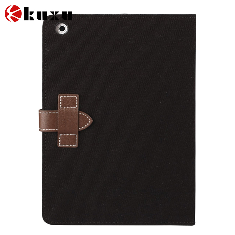 Slim Lightweight Smart Grey Owls Canvas Case Cover for iPad Air iPad 5