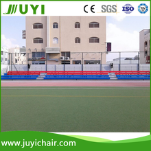 JY-750 China supplier Baseball Movable Basketball Bleacher Chairs Stadium Seats Grandstand Chairs Arena