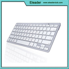 Ultra Slim Wireless Bluetooth Keyboard For All iOS/iPad, Android, Mac, & Windows Devices