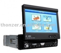 7 inch One DIN Car DVD with Detachable Front Faceplate(TZ-DI705)