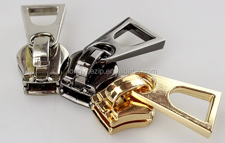 Wholesale custom zipper slider zipper pull zipper pullers and sliders