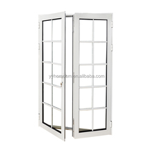 Thermal break aluminium hinged french used exterior doors for sale