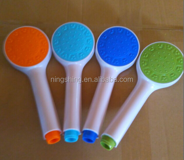 HIGH QUALITY ABS COLORFUL SINGLE FUNCTION HANDSHOWER ,CHEAP PRICE