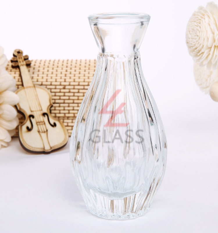 shanghai linlang 100ml 200ml new arrival aroma reed diffuser bottle decorative