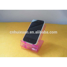 wholesale plastic PS mobile phone display holder