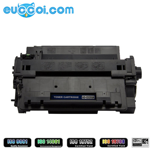 Original quality compatible 255A toner with chip CE255A toner replacing 55A CE255 laserjet printer toner for P3010 P3015 printer