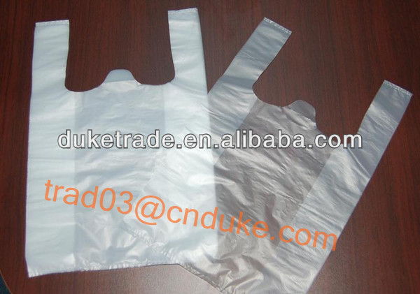 GBDE-600 Four Lines Hot Sealing Cold Cutting Automatic PE Poly Bag Making Machine