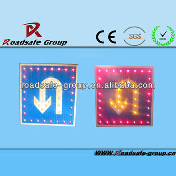 RSG on sale LED Street Solar Traffic Sign for Road