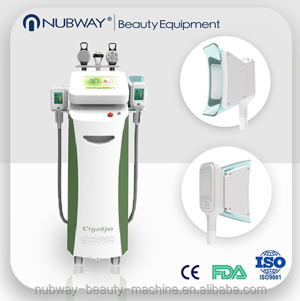 Amazing result !!! slimming vacuum Fat Dissolving Machine lipo cryo with 5 heads