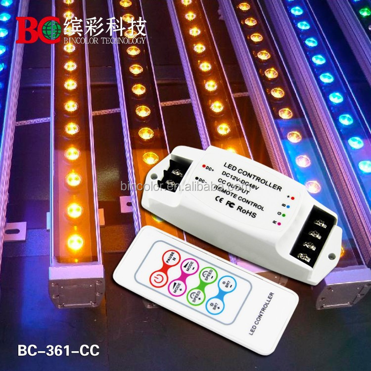 700mA/CH RGB LED Lighting Controller, 12-48V DC Input Voltage, CE and RoHS Listed