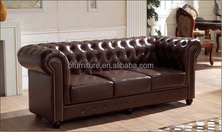 Antique Home Furniture Chesterfield Sofa Set/Home Furniture Antique  Appearance Leather Sofa, View Chesterfield Sofa Sets, Pfurniture Product  Details From ...