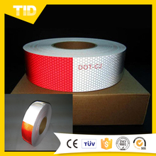5cm*50m DOT C-2 REFLECTIVE CONSPICUITY TAPE 11 INCH RED - 7 INCH WHITE