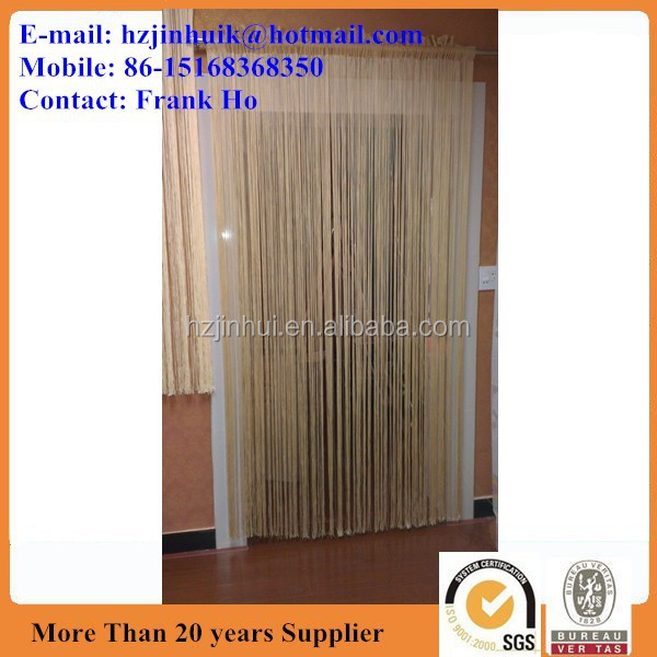 jacquard polyester window really string curtain