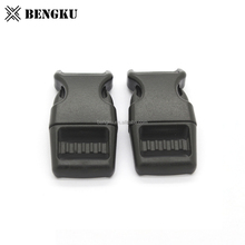 thin plastic side release army adjustable buckle
